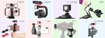 BOYA Microphone with Gimbal Accessories <b>LED</b> Video <b>Light</b> Cold ...