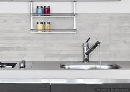 modern tile backsplash. Perfect Modern Modern Limestone Mosaic Backsplash Tile Gray Countertop On H