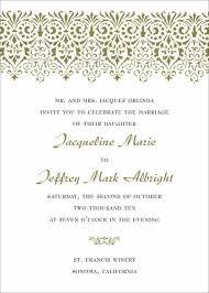 Invite Good Rhstopublyoninfo Wording Sample Wedding Invitation ...