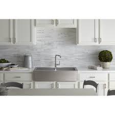 Kitchen Sink Furniture Kohler Vault 35 3 4 X 24 5 16 X 9 5 16 Top Mount Double Bowl