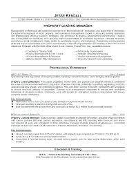 Property Management Resume Samples Property Manager Resume Property Management Resume Regional Property