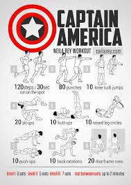 capn america bodyweight workout