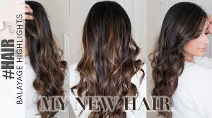 bage highlights on dark hair my new hair colour 2016 ysis lorenna you