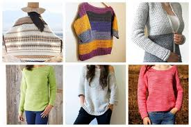 Free Crochet Sweater Patterns Simple 48 Free Crochet Sweater Patterns Perfect For Chilly Days Ideal Me