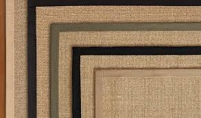 magnificent pottery barn sisal rug on color bound natural swatch