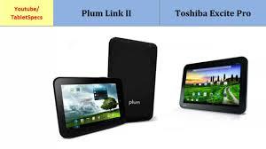 Plum Link II over Toshiba Excite Pro ...