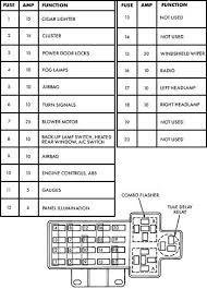 1998 Caravan Fuse Diagram Toyota Fuse Box Diagram