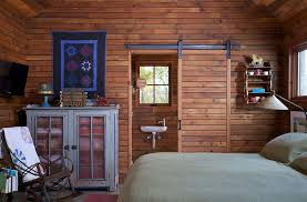single barn door designs. Single Barn Door For Bedroom With Sliding Design Style And Matching Wooden Backdrop Material Also Rustic Iron Rocking Chair Blue Cabinet Painted Designs