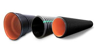 high quality hdpe corrugated pipes and fittings for sewerage and drainage are extremely durable for all chemical substances its strengths lie in its high