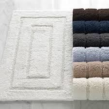 cotton bath rugs classic egyptian cotton bath rugs kassatex home decor ideas