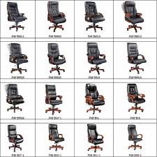 malaysia office chair wooden executive chair for foh b108
