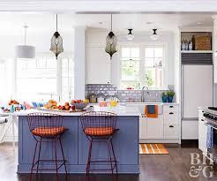 Bring your kitchen to life with this energetic duo. Bold and juicy citrus  orange pairs perfectly with soft blue. Plus, both colors complement bright  white ...