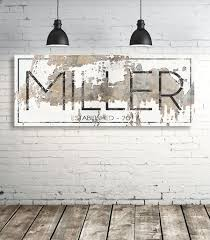 modern last name sign personalized family name wall art on personalised family name wall art with modern last name sign personalized family name wall art walls of