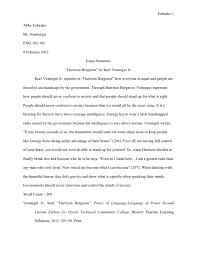 essay on harrison bergeron by kurt vonnegut harrison bergeron essay examples kibin