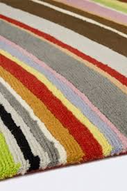 contemporary rug striped wool tibetan wool