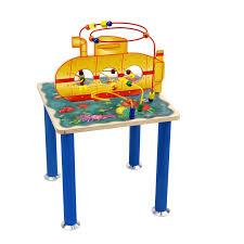 kids submarine bead maze table