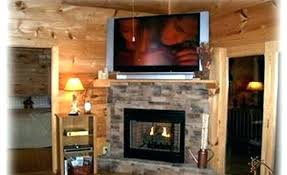 stone fireplace with tv above fireplace design ideas with above awesome stone fireplaces with view more