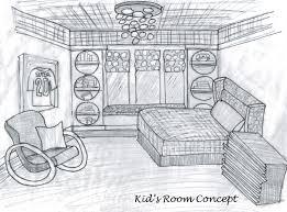 Bedroom Interior Design Sketches Interior Design Bedroom Sketches Interior Design Concept