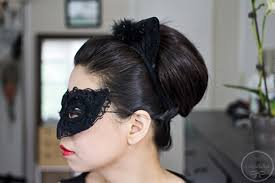 e hathaway catwoman s hair makeup tutorial