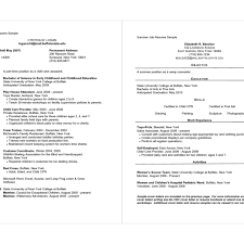 Part Time Job Resume Sample Fascinating Resume Objective Part Time Job Simple Resume Examples For Jobs