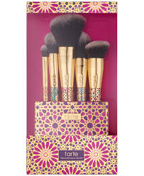tarte trered tools brush set created for macy s makeup beauty macy s