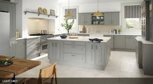 Light Kitchens An In Frame Effect Sheraton Kitchen With A Smooth Painted Finish
