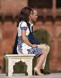 Prince William and Kate Middleton walk in Diana s footsteps at the.