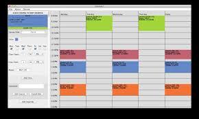 Free College Schedule Maker Polar Explorer