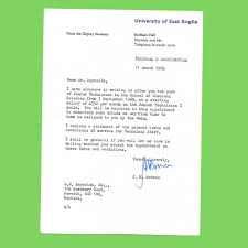 40 Years Ago First Job Offer Letter I Received This Lette Flickr