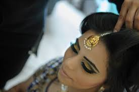 real bride anita pillai asian bride makeup