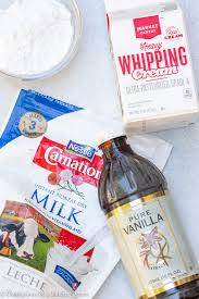 recipe for ilized whipped cream