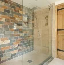 would the glass wall help with a larger shower room to keep it warmer master bath redo walk bathroom walk shower