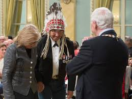 calling back after interview governor general apologizes for calling indigenous people