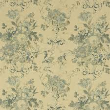 brianna <b>floral</b> - blue fabric | Ralph Lauren