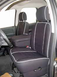 dodge ram full piping seat covers