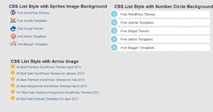 css number format example 5 useful css list style tutorial and example freshdesignweb