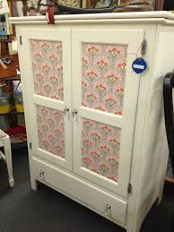 decoupage ideas for furniture. Girly Cabinet Decoupage Ideas For Furniture A