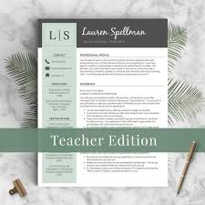 Educator Resume Template for Word and Pages / Principal Resume, Teacher CV, Teacher  Resume, Resume for Teachers, Creative Teaching Resume