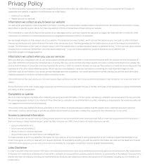 privacy policy essays on leadership com