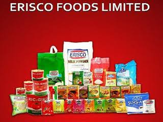 Erisco Foods Limited HND Graduates/Non-graduates and Exp. Job Recruitment (4 Positions)