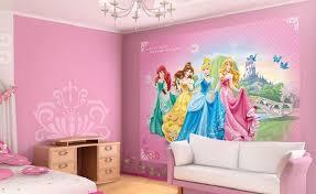 Disney Princess girl's room wallpaper murals
