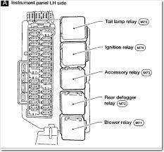 nissan quest fuse box diagram also 2001 nissan altima fuse box 2001 nissan maxima fuse panel diagram at 2001 Nissan Maxima Fuse Box Diagram
