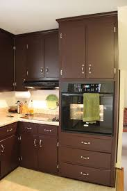 Dark Brown Paint Color For Kitchen Cabinets Archives Blue Painted
