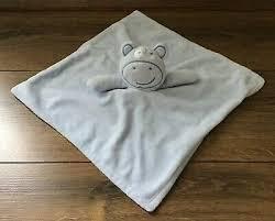 matalan blue teddy bear comforter