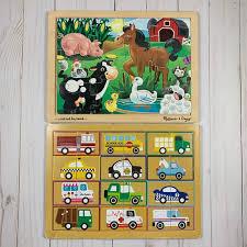 | skip to page navigation. Melissa Doug Toys Melissa Doug And Horizon Group Wooden Puzzles Poshmark