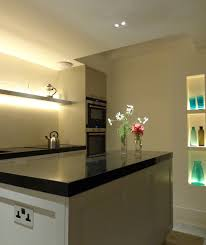 use led tape to light your display shelves and create ambient lighting ambient kitchen lighting