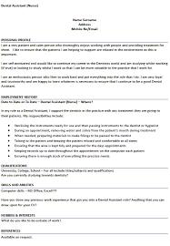 Dental Assistant Responsibilities Resume. Dental Assistant Resume ...