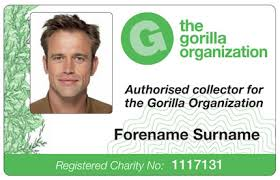 sample id cards gorilla organizations authorised collector card sample flickr