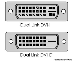 analog and dvi connections how computer monitors work dvi d connectors carry a digital only signal and dvi i adds four