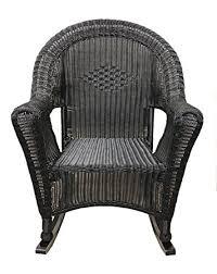 image black wicker outdoor furniture. lb international black resin wicker rocking chair patio furniture image outdoor